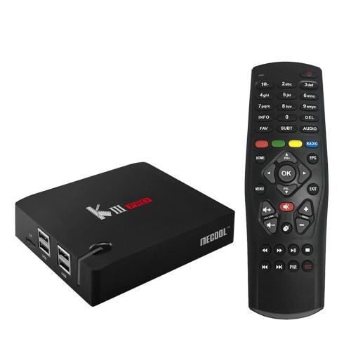 MECOOL KIII PRO Android TV DVB Box mit Triple Tuner und Android 7 1