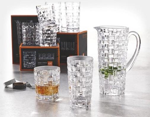 1 Liter Krug und 4er Set Gläser (395ml) von Nachtmann mit Füllartikel und Versandkosten für 14,42€