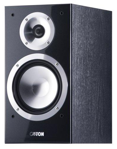 Canton chrono 502 Kompakt Lautsprecher (70/130 Watt) schwarz (Paarpreis) [Amazon prime exklusiv] - PVG > 300 €