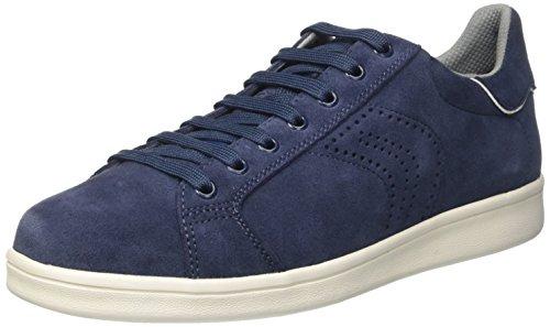 Geox U Warrens B Herren Low-Top in Blau aus Leder nur noch Größe 43 [Amazon]