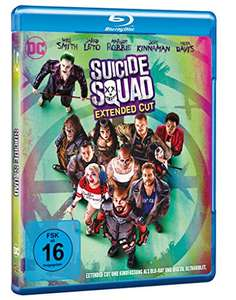 Suicide Squad inkl. Extended Cut [Blu-ray] [Amazon.de]