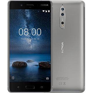 Nokia 8 in Stahlgrau mit Snapdragon 835, 4GB RAM, 64GB Speicher für 522,99€, kein Vertrag, kein Simlock