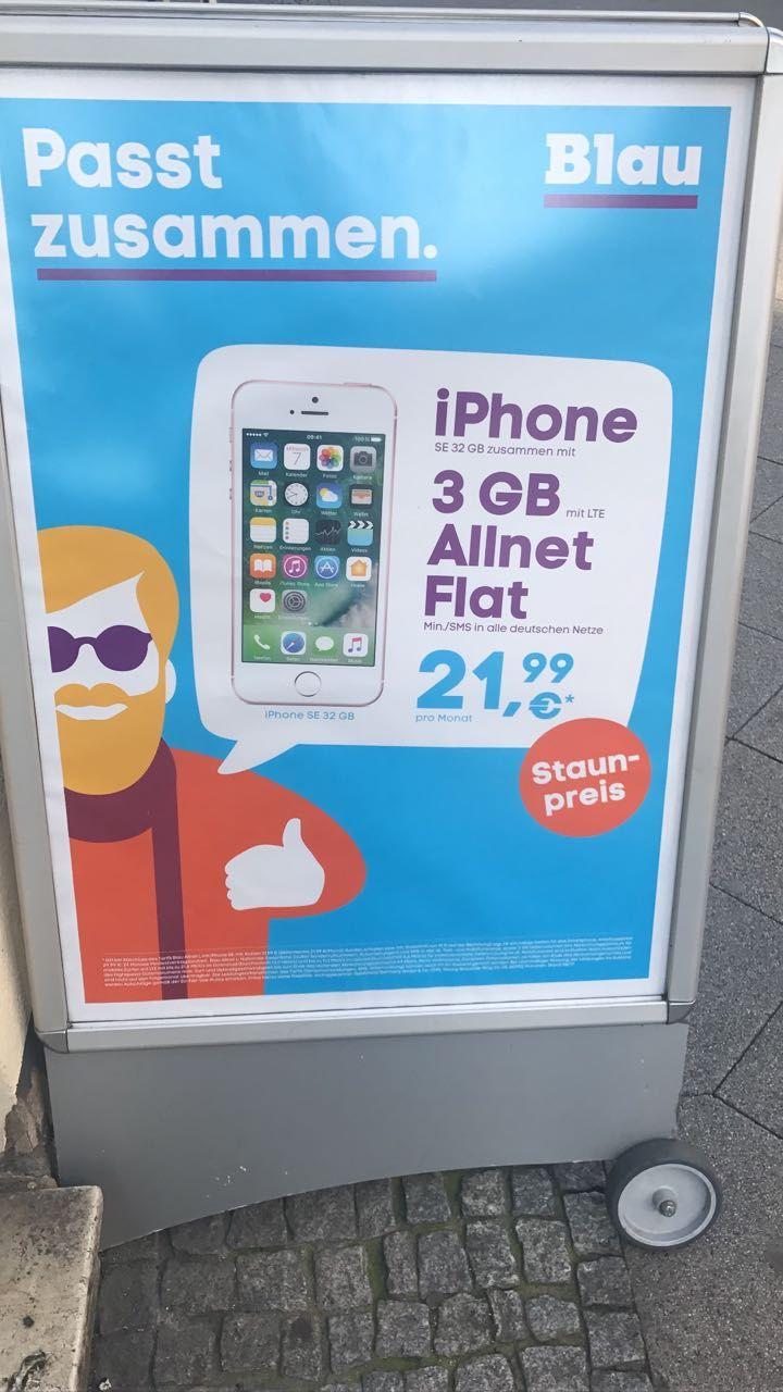 Iphone se 32gb flat ohne aufpreis