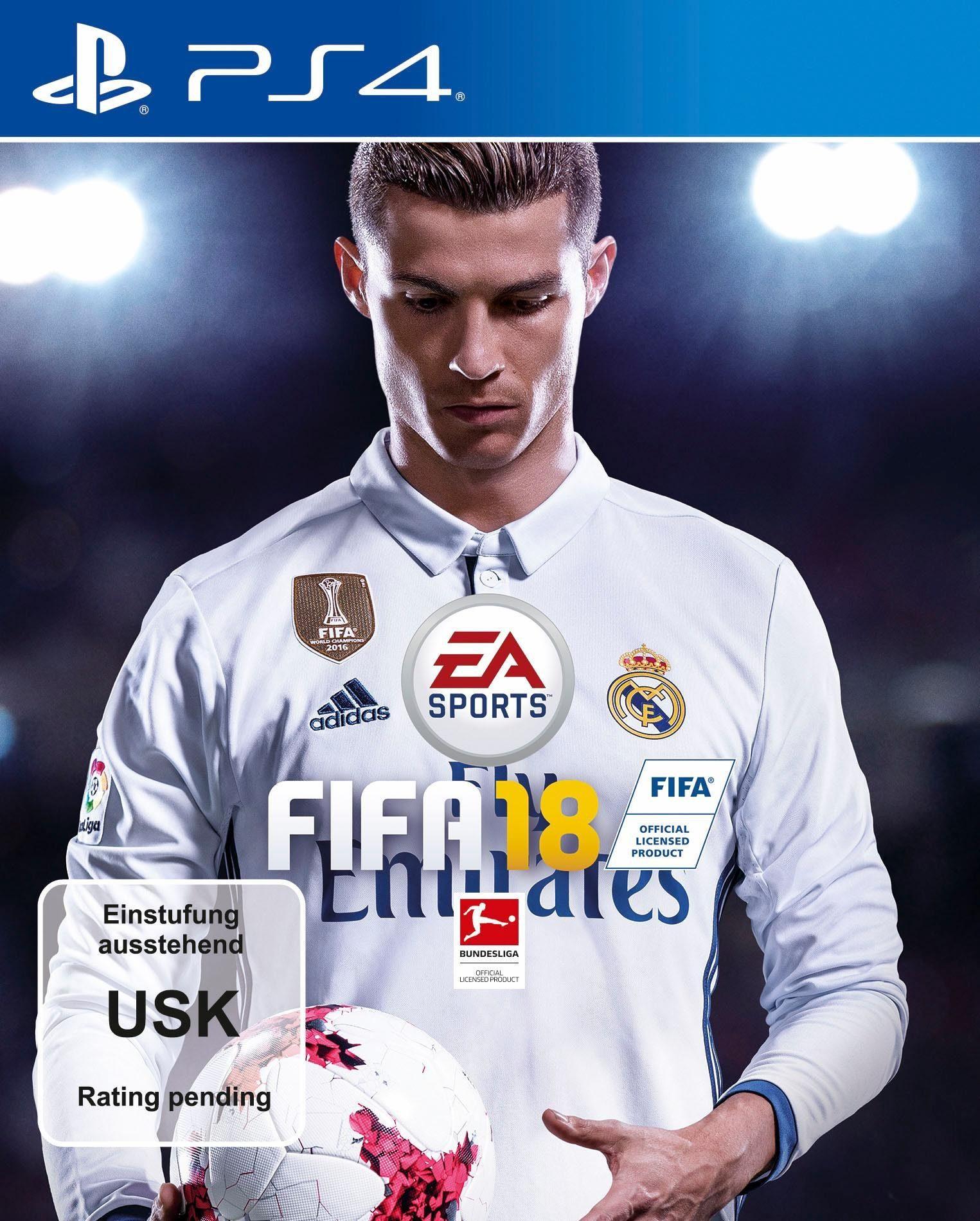FIFA 18 für PS4, XBOX, PC und Nintendo Switch zum Bestpreis von 41,99 Euro!!! Gefunden auf otto.de :)