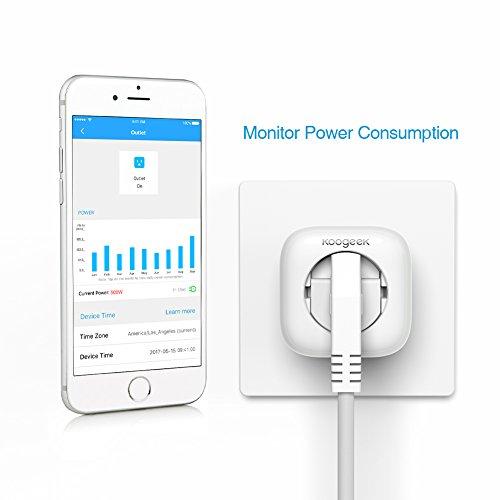 AMAZON: Koogeek Wi-Fi Smart Plug für 27,99 mit Gutschein - auch ohne Prime!