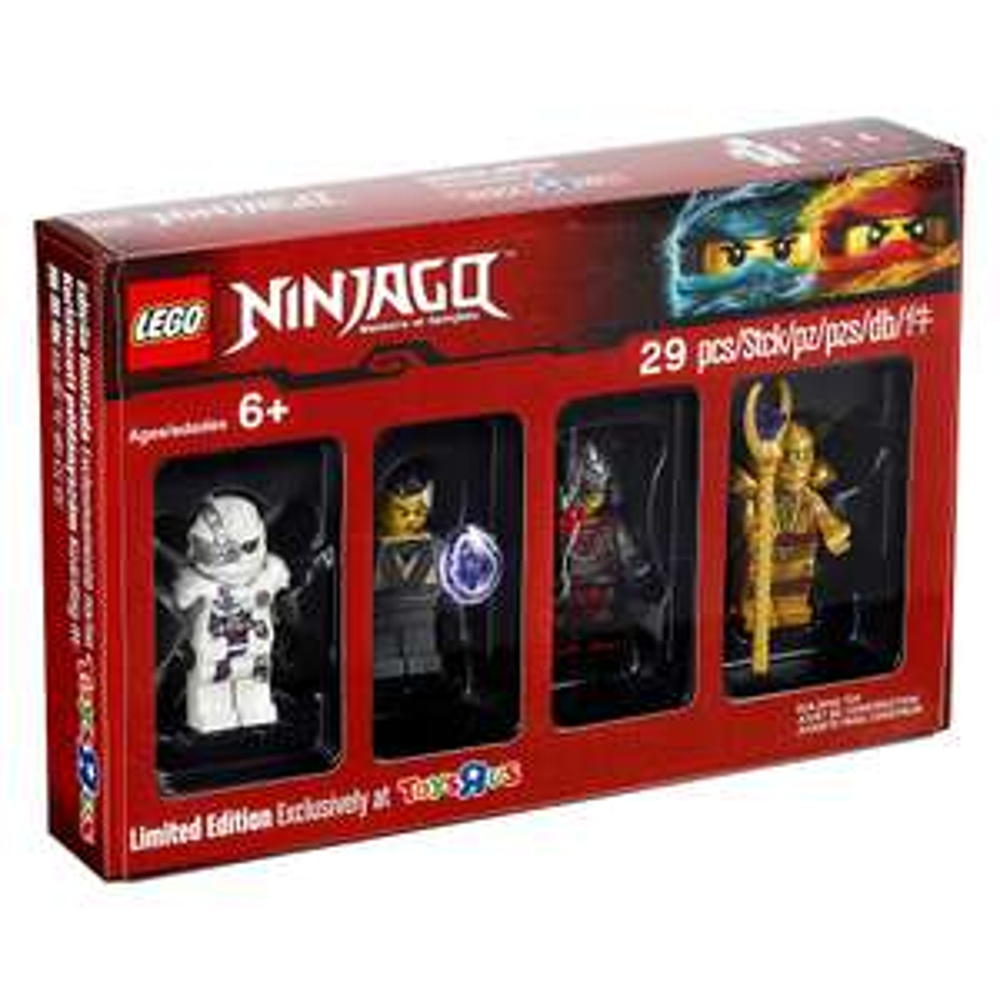 Lego Ninjago exklusives Figuren-Set zu jedem Lego-Einkauf ab 40€ gratis dazu bei [ToysRUs]