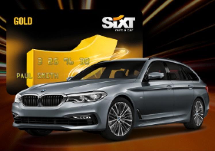 Sixt Gold Card für Drive Now Kunden + 20 Freiminuten