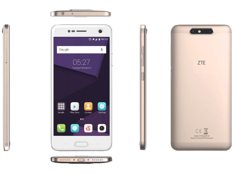 ZTE Blade V8 Dual-SIM (5,2'' FHD IPS, Snapdragon 435 Octacore, 3GB RAM, 32GB eMMC, 13MP + 13MP Kamera, 2730mAh, Android 7) für 149€ versandkostenfrei [Amazon]