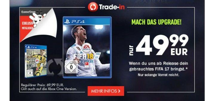 FIFA 18 (Gamestop) Trade-in