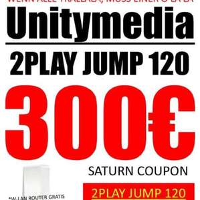 300€ Saturn Coupon - Unitymedia im Saturn Markt Dortmund