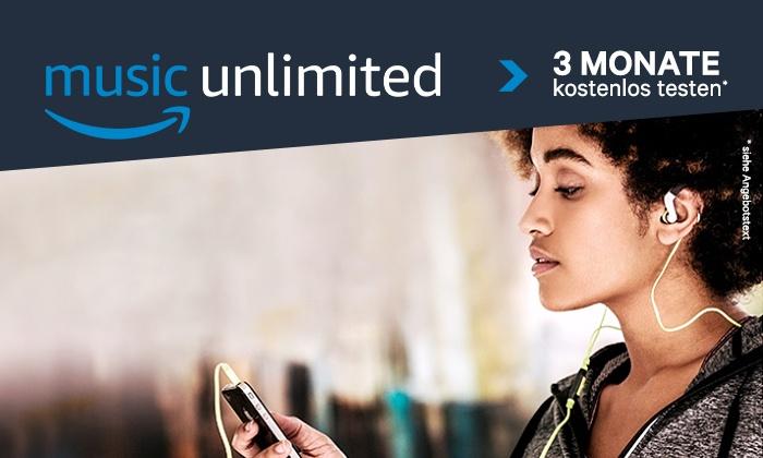 Amazon Music Unlimited 3 Monate kostenlos testen, Groupon, nur für Neukunden (Amazon Music Unlimited)