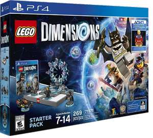 [real] LEGO Dimensions Starter Pack inklusive Supergirl PS4