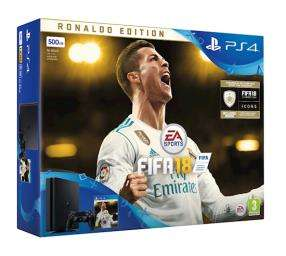 PlayStation 4 Slim + FIFA 18 Ronaldo Edition für 236€ (Graingergames)