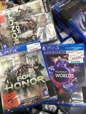 [Media Markt Hildesheim] For Honor PS4 für 15€ , für PC 10€ / VR Worlds 15€