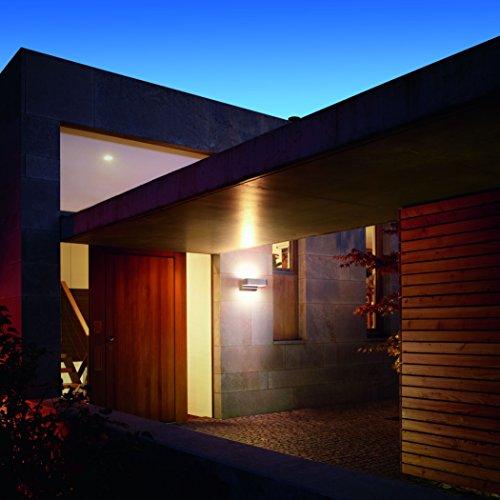 [Amazon] Steinel Up-/Downlight L 810 LED iHF weiß, Sensor Außenleuchte mit 12,5 Watt LEDs und 612 Lumen, Wandleuchte mit 160° Hochfrequenz Bewegungssensor mit max. 5 m Reichweite, [Energieklasse A]
