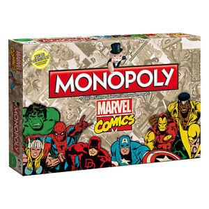Monopoly: Marvel Comic Retro Edition (Winning Moves WIN44338) für 19€ versandkostenfrei (Media Markt)