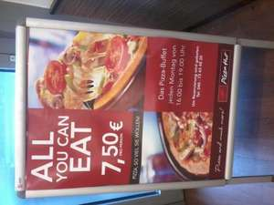 [lokal Hamburg] Pizza Hut All you can eat für 7,50 p.P.