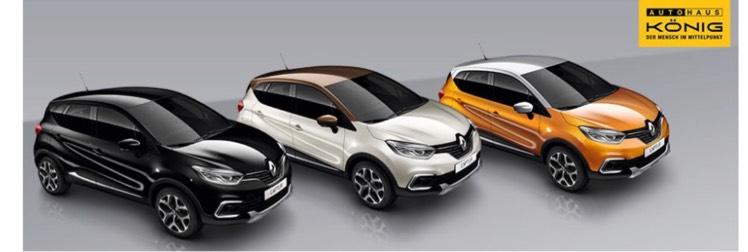 [Privatleasing] Renault Captur Life ohne Anzahlung & ohne Bereitstellungskosten inkl. Winterreifen für 99€ / Monat für 60 Monate