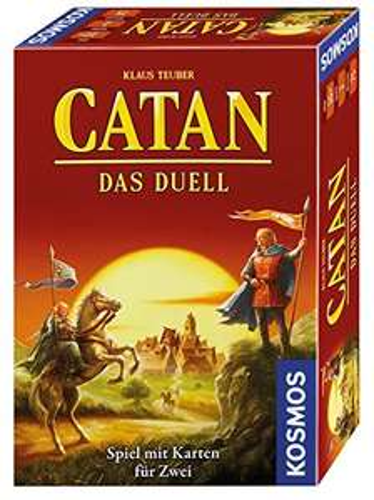 [Amazon.de] Catan: Das Duell WIEDER VERFÜGBAR (ex Fürsten von Catan) Gesellschaftsspiel für 9,97 mit Prime/Buchtrick