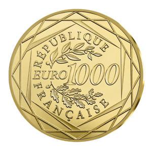 1000 Euro Goldmünze für 1000 Euro (Frankreich) - Ebay-Wow