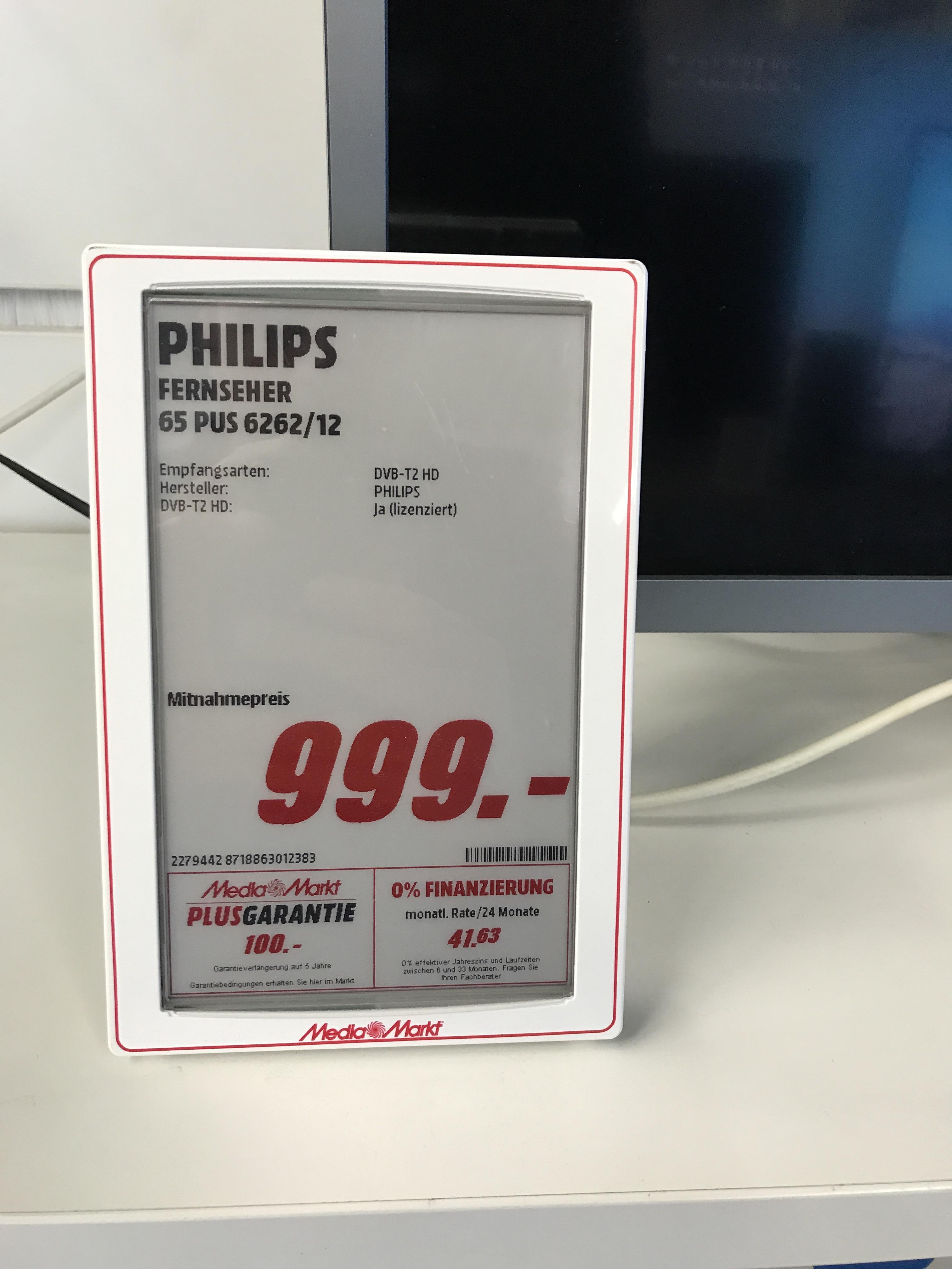 Mediamarkt Elmshorn - Philips - 65 PUS 6262 - Ambilight 4K TV - Mediamarkt