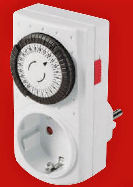 Steckdosen-Zeitschaltuhr analog für nur 2,00 € am 2.10. @ Conrad Filiale (offline)