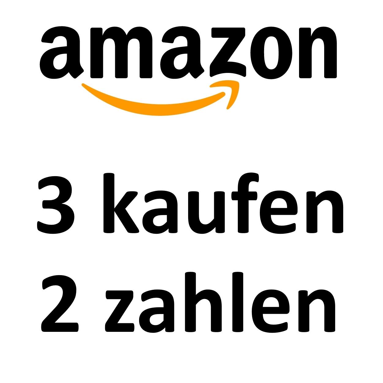 Amazon 3 kaufen 2 zahlen auf fast das gesamte Film und Musik Sortiment