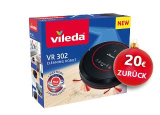 Bis zu 20€ Cashback für den Kauf verschiedener Vileda Produkte bis 31.12.2017