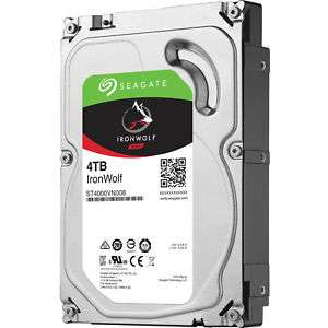 """Seagate IronWolf NAS interne HDD 4TB / 3,5"""" ST4000VN008 für 99,90€"""