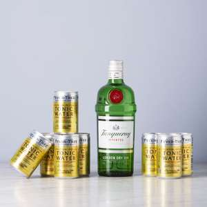 [Delinero] Tanqueray Gin 0,7l + Fever-Tree Tonic | Weitere Gin-Tonic-Sets