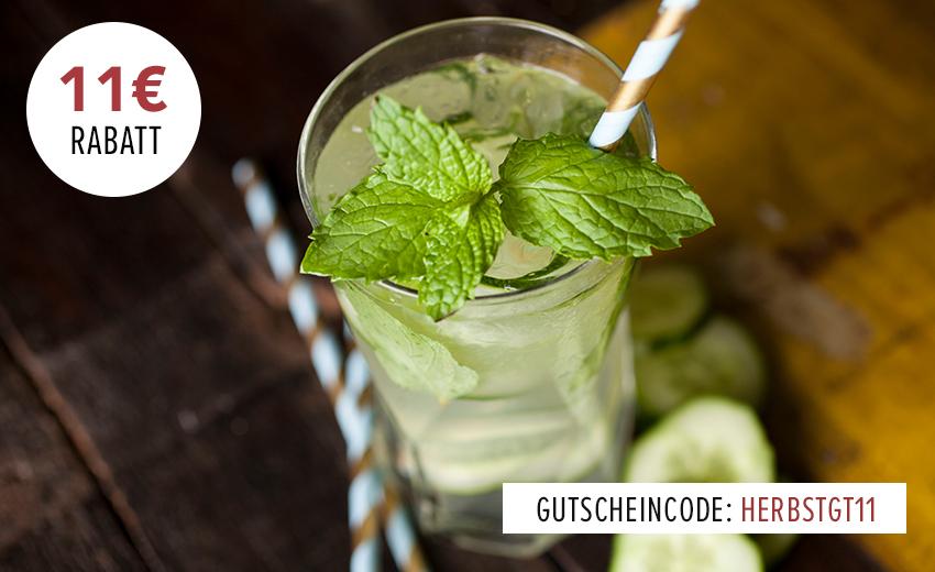 11 € ab 45 € Gin & Tonic Gutschein bei Foodist – z.B. Ferdinands Gin & 5 Aqua Monaco Tonic für 36,30 € inkl. Versand, 2 Gin Sul für nur 29,40 € die Flasche