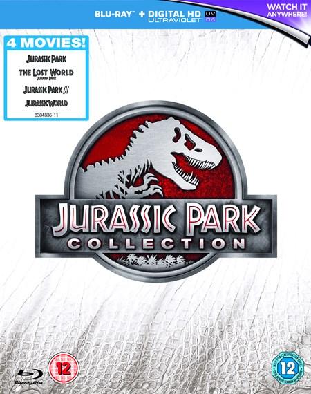 Jurassic Park Collection 1-4 (Blu-ray + UV Copy) für 10,30€