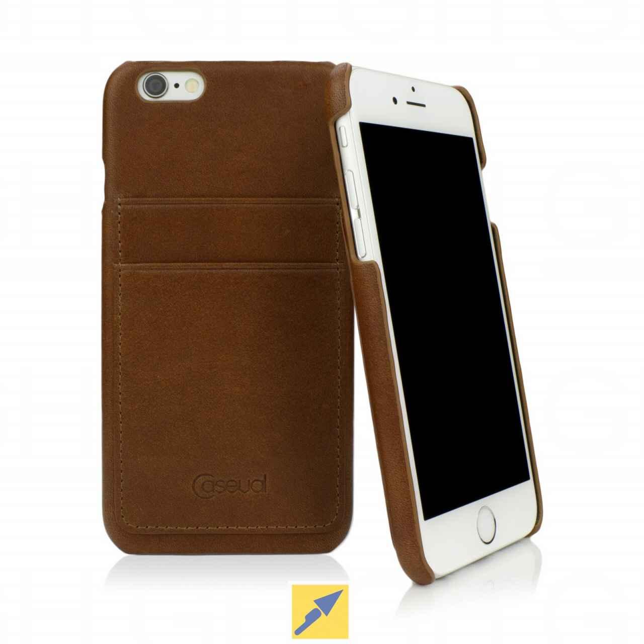 Echtleder-Schutzhüllen von Caseual für iPhones ab 1€ (+5,99€ Versand)