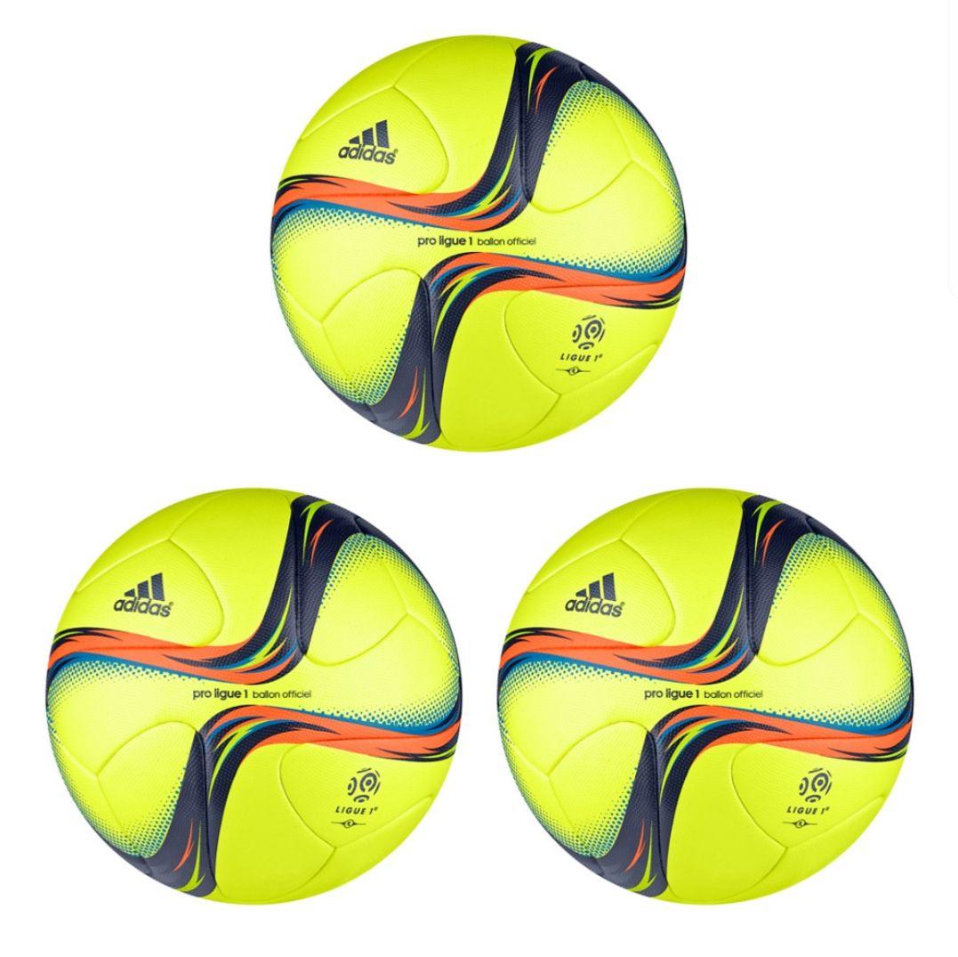 3× Adidas Pro Ligue 1 OMB Fußball (baugleich mit Torfabrik) für 99,99€