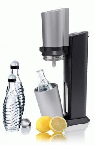 SODASTREAM Wasser-Sprudler Crystal 3 Glaskaraffen 1 Zylinder