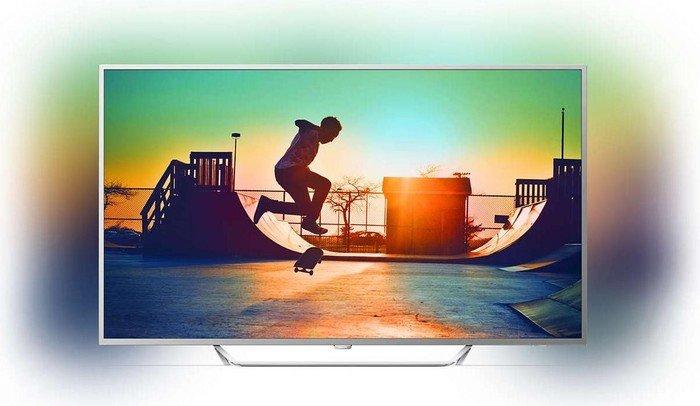 Philips 55PUS6412 TV (55'' UHD Edge-lit Dimming HDR, 2seitiges Ambilight, Triple Tuner, 4x HDMI, 2x USB, VESA) für 524€ [mit Lieferzeit] [Amazon]