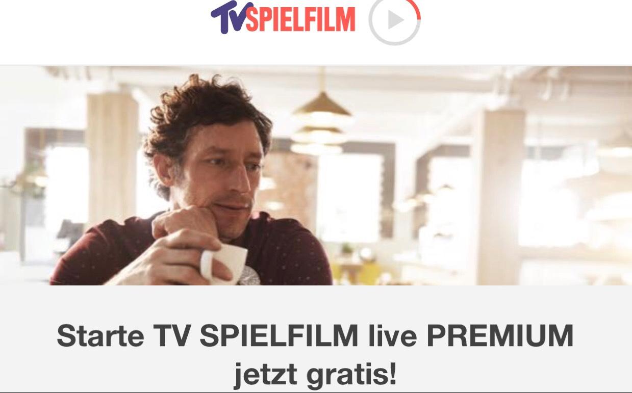 TV Spielfilm Premium Paket mit 70+ Sendern einen Monat kostenlos testen