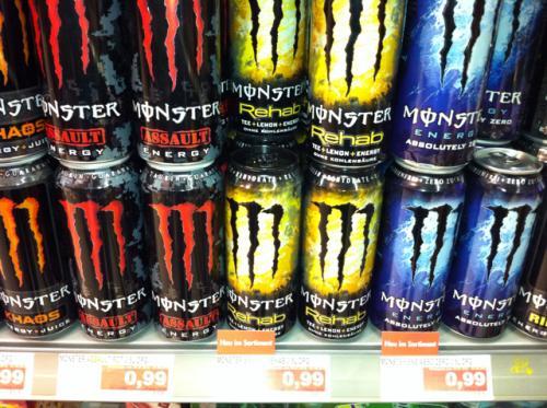 Monster Energy bei Edeka ab heute schon