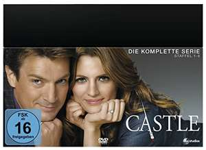 Castle - Die komplette Serie (Limited Edition, 45 Discs) DVD für 36,28€ statt 73,97€ [Amazon Blitzangebot] + 1€ Amazon Video Gutschein