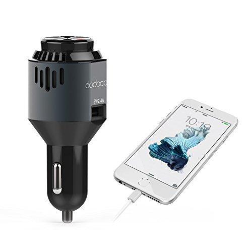 dodocool 3 in 1 Bluetooth 4.1 Ohrhörer In Ear Kopfhörer mit Mikrofon,KFZ Ladegerät Autoladegerät mit Mini Auto Lufterfrischer, Ionisierer 29,99€