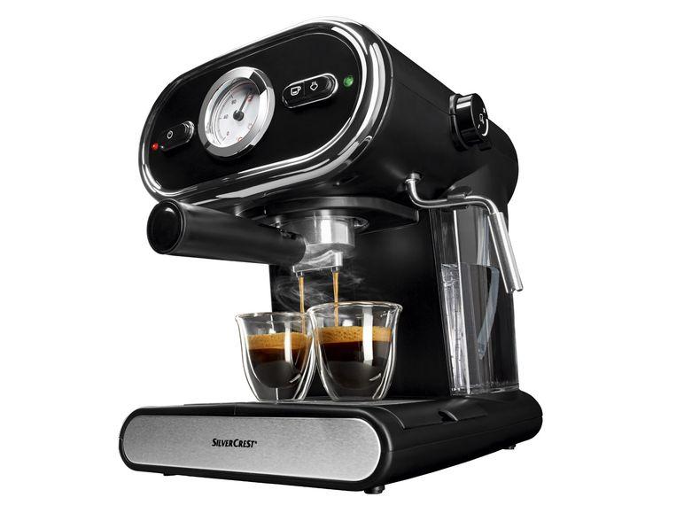 [Lidl Online] Espressomaschine mit Siebträger für 49,99€ zzgl. 4,95€ Versand