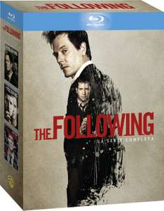 The Following Blu-ray - Die komplette Serie ( Staffeln 1-3 ) mit Deutscher Tonspur inkl. Vsk für 23,53 € > [amazon.it]