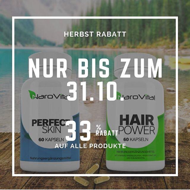 33% bei NaroVital Hair Power und Perfect Skin! Nahrungsergänzungsmittel aus Deutschland