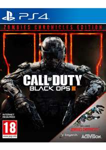 Call of Duty: Black Ops III Zombies Chronicles Edition (PS4 & Xbox One) für je 30,99€ (SimplyGames)