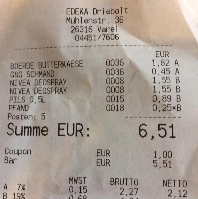(Lokal?) Nivea 1€ Coupon für Duschgel/Deo