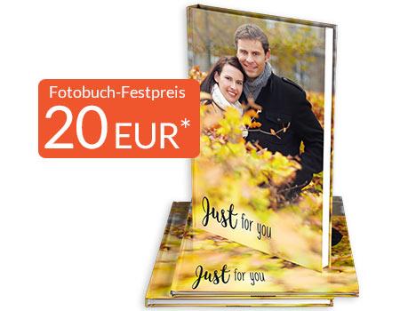 Pixelnet Fotobuch mit 200 Seiten für 23,95€