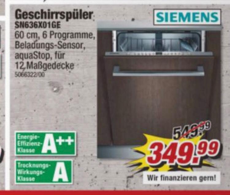 LOKAL BERLIN: Siemens Geschirrspüler SN636X01GE