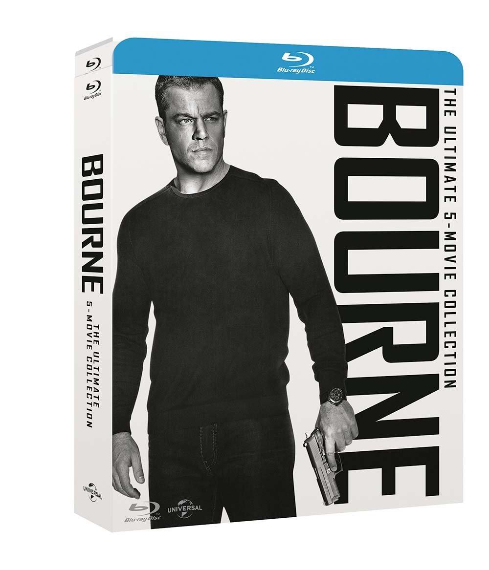 Bourne - The Ultimate 5-Movie-Collection [Blu-ray] mit Deutscher Tonspur inkl. Vsk für 20,48 € > [amazon.it]