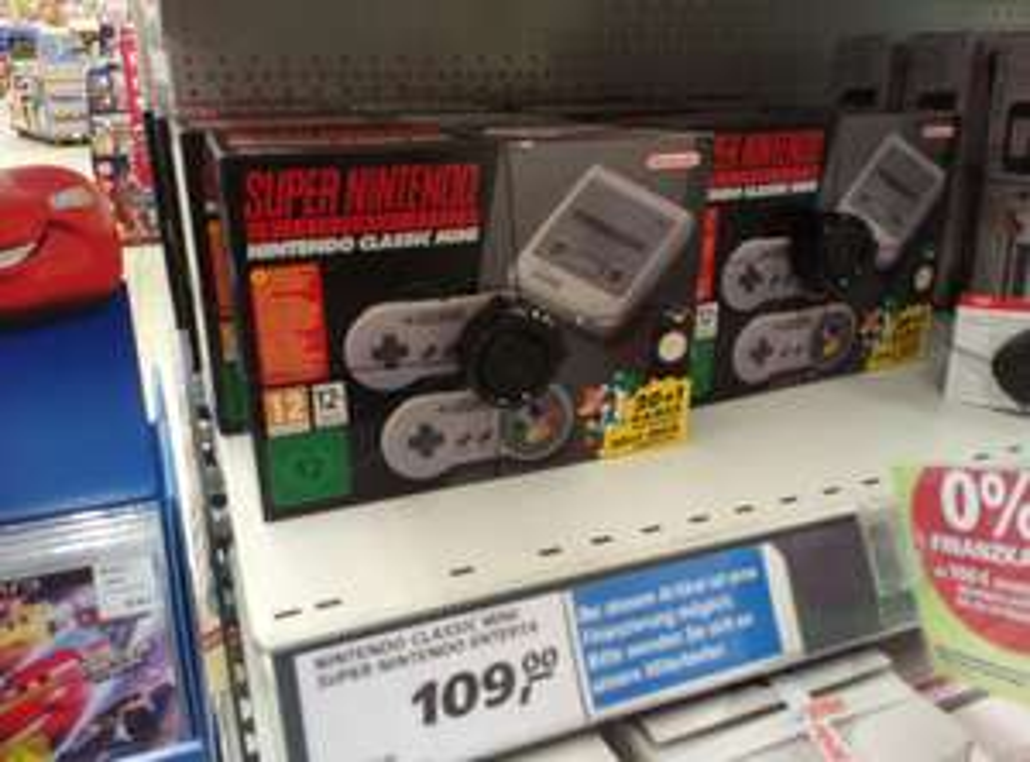 Super Nintendo Classic Mini SNES Mini [Horb a.N. , real]