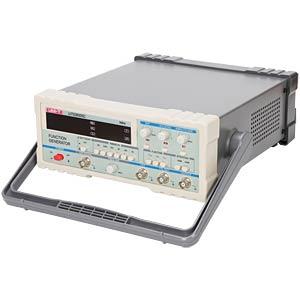 UNI-T Funktionsgenerator mit Sinus-, Rechteck-, Dreieck-, Pulse-, TTL- und Rampen-Signalen (bis 5 MHz) für 134,60 Euro [Reichelt Elektronik]